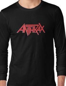Anthrax Classic Logo Long Sleeve T-Shirt