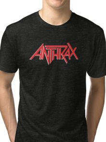 Anthrax Classic Logo Tri-blend T-Shirt