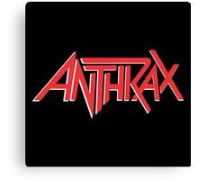 Anthrax Classic Logo Canvas Print
