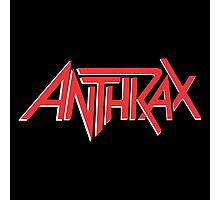 Anthrax Classic Logo Photographic Print