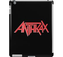 Anthrax Classic Logo iPad Case/Skin