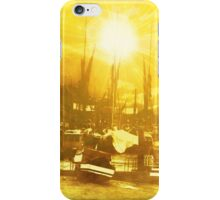 Boats At Sundown  iPhone Case/Skin