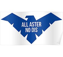 All aster. No Dis. Poster