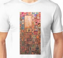 Stamps Vintage Travel Unisex T-Shirt