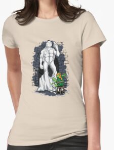 Michelangelo's David Womens Fitted T-Shirt