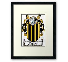 Farley Coat of Arms (Irish) Framed Print