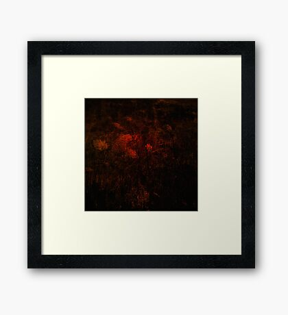 Bloodflower Framed Print