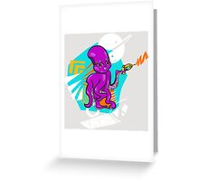 Phasers Set to Stunning Greeting Card