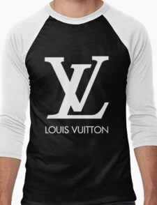 LOUIS VUITTON Men's Baseball ¾ T-Shirt