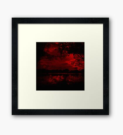 Bloodflower 2 Framed Print