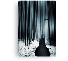 dark promise - raven Canvas Print