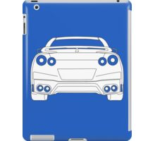 Rear Tail Light Tee / Sticker for R35 Nissan GTR enthusiasts - White iPad Case/Skin