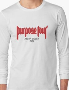 purpose tour Long Sleeve T-Shirt