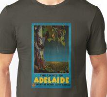 Adelaide Restored Vintage Travel Poster Unisex T-Shirt