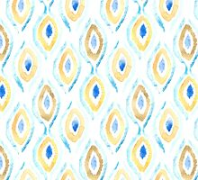 Summer Ikat Pattern by Tangerine-Tane