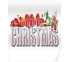 christmas Filled With ChirstmaS Gift Poster