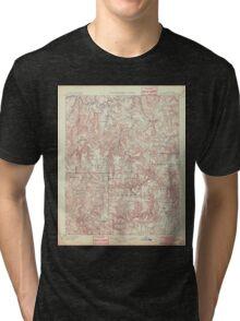 USGS TOPO Map Arkansas AR Marshall 260519 1901 125000 Tri-blend T-Shirt