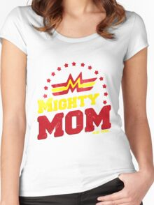 Mighty Mom Women's Fitted Scoop T-Shirt