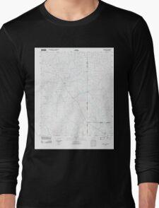USGS TOPO Map Arkansas AR Ravanna 20110715 TM Long Sleeve T-Shirt