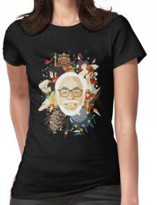 Miyazaki-san Womens Fitted T-Shirt
