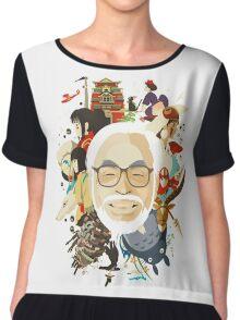 Miyazaki-san Chiffon Top