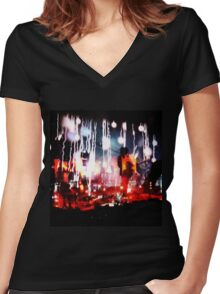 The Cure 2016 Women's Fitted V-Neck T-Shirt