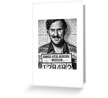 Pablo Escobar - Narcos Greeting Card