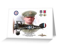 Major Donald MacLaren Greeting Card