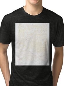 USGS TOPO Map Arkansas AR Agnos 257846 1962 24000 Tri-blend T-Shirt
