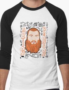 ACTION BRONSON Men's Baseball ¾ T-Shirt