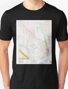 USGS TOPO Map Arkansas AR Morrilton West 312473 1991 24000 Unisex T-Shirt