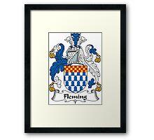 Fleming Coat of Arms (Irish) Framed Print