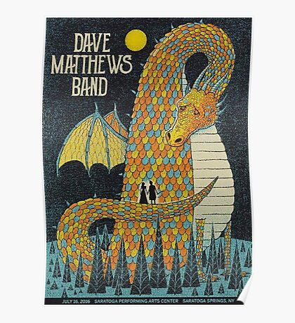 DMB Dragon, Saratoga Performing Arts Center, Saratoga Springs, NEW YORK Poster
