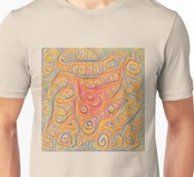 Orange #DeepDream Unisex T-Shirt