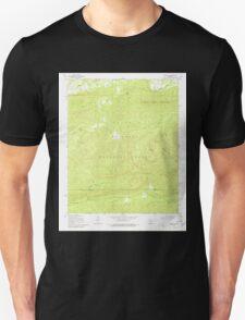 USGS TOPO Map Arkansas AR Nimrod SW 259246 1968 24000 Unisex T-Shirt