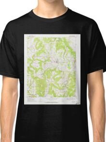 USGS TOPO Map Arkansas AR Lincoln 258931 1970 24000 Classic T-Shirt