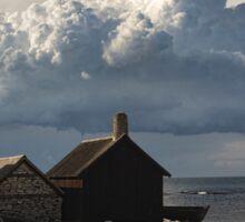 Helgumannen Clouds Sticker