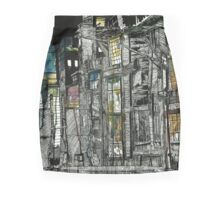 Whispers Of A Well Loved Word Mini Skirt