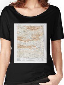 USGS TOPO Map Arkansas AR Glenwood 260071 1949 62500 Women's Relaxed Fit T-Shirt