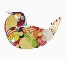 Abstract Bird 2 Kids Tee