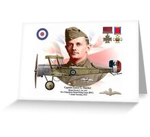 Captain Lanoe G. Hawker Greeting Card