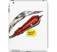 Thrilling Stories - Retro Space Rocket iPad Case/Skin