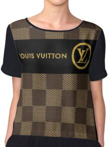 Louis Vuitton Chiffon Top