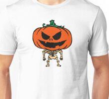 Pumpkin Skeleton Unisex T-Shirt