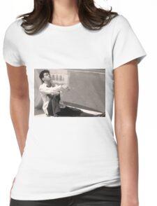 Robert Downey Jr.  // Less Than Zero Womens Fitted T-Shirt