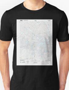 USGS TOPO Map Arkansas AR Stuart 20110728 TM Unisex T-Shirt
