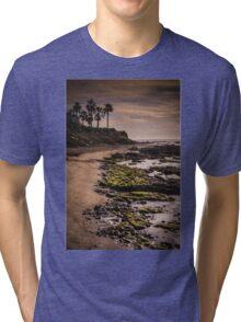 Rocky Spanish beach Tri-blend T-Shirt