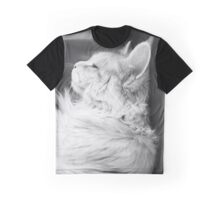 Sleeping Cat Graphic T-Shirt