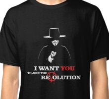 I Want You V For Vendetta Classic T-Shirt