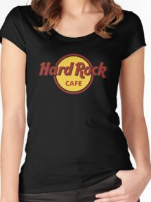 cafe deh Women's Fitted Scoop T-Shirt